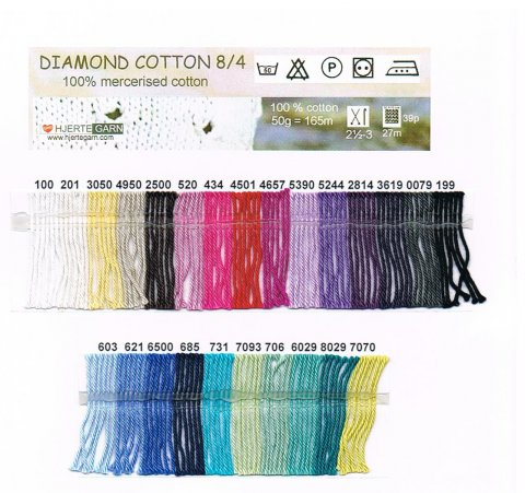 Diamond Cotton bomuld 50 gr.